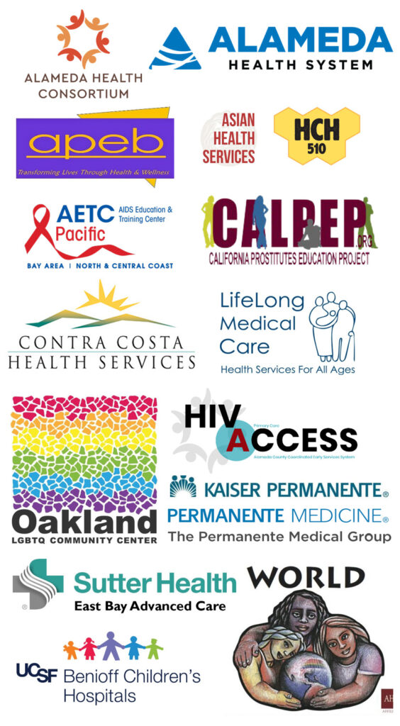 logos for 2020 EBGTZ East Bay organization endorsements