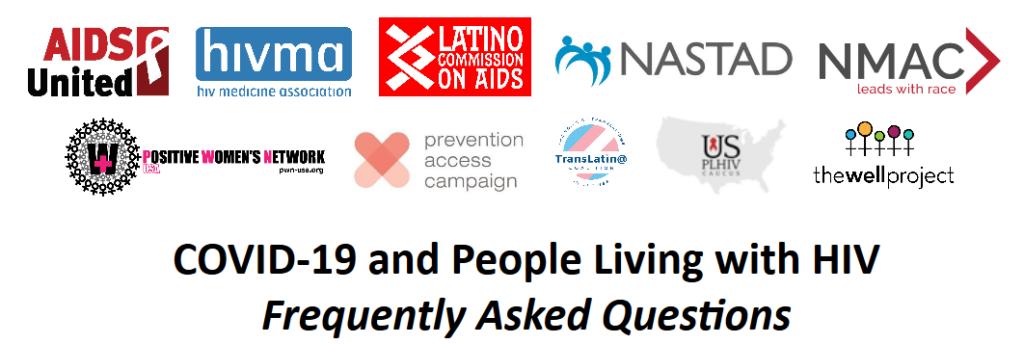 screenshot of COVID+HIV AIDS United Google Doc